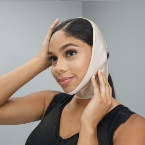 Neck Compression Garment to Post-Op Face Lift and Neck