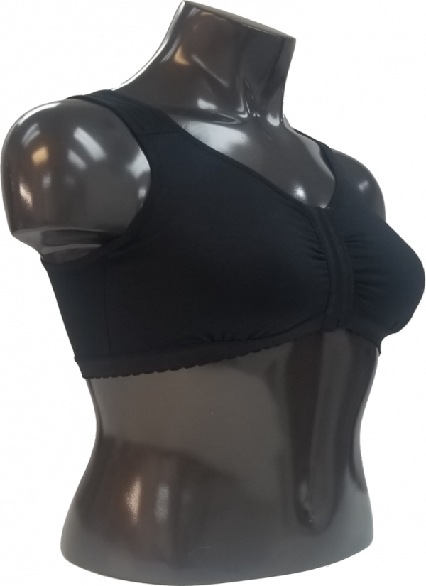 Sports Bra with Frontal Hooks to Post-Op Breast Surgery